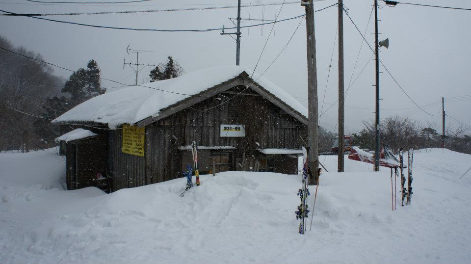 貸しスキー小屋