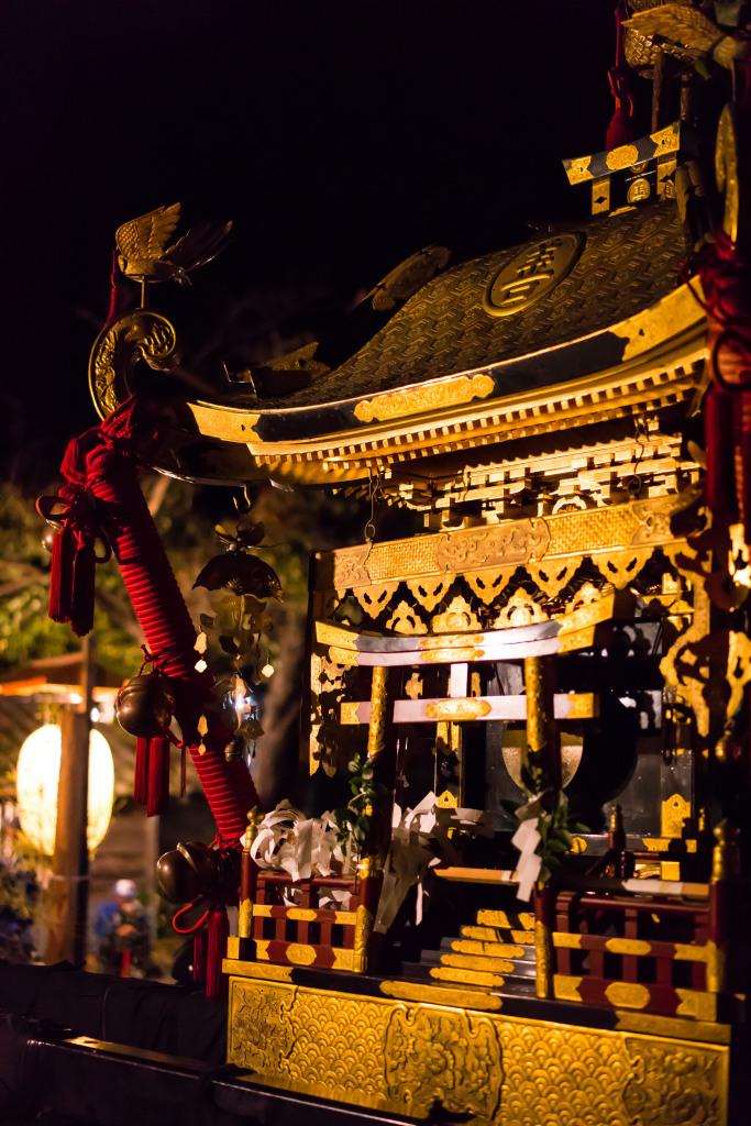 善知鳥神社 神輿
