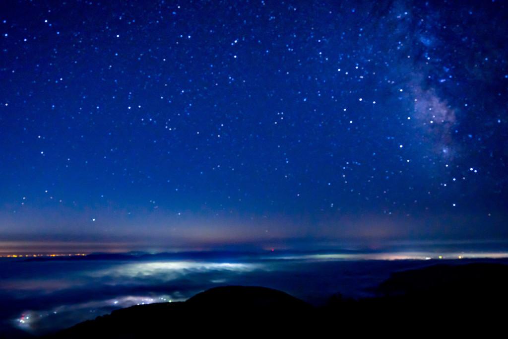 ドンデン山夜景