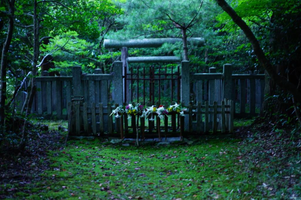 順徳天皇の第二皇女忠子姫を祭った神社