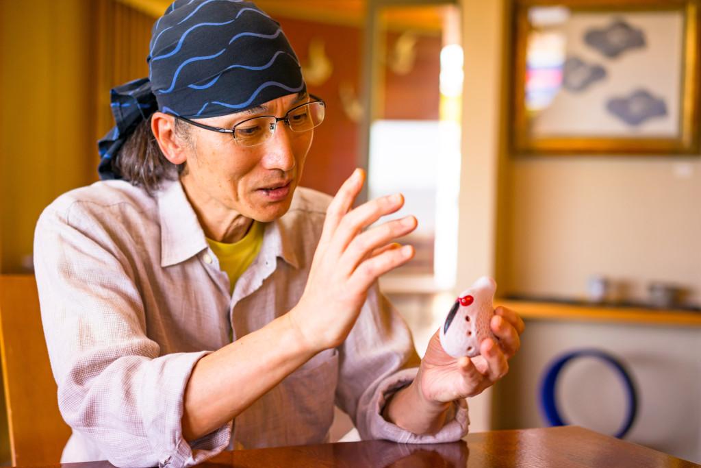 池田 脩二 朱鷺オカリナ