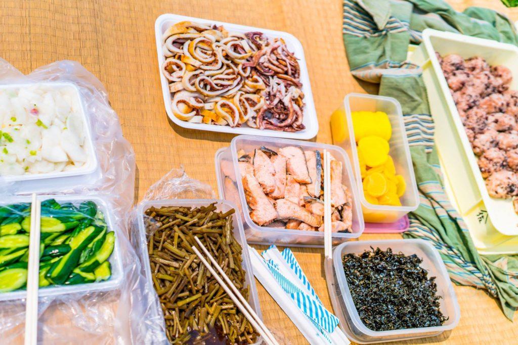 海藻スゲナの煮付け
