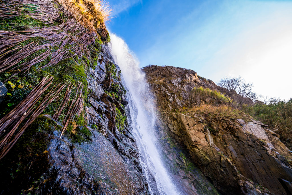 佐渡 大ザレの滝
