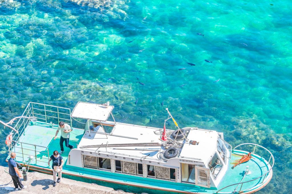 佐渡 海中透視船