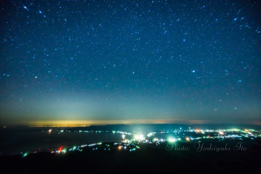 ドンデン山荘星景