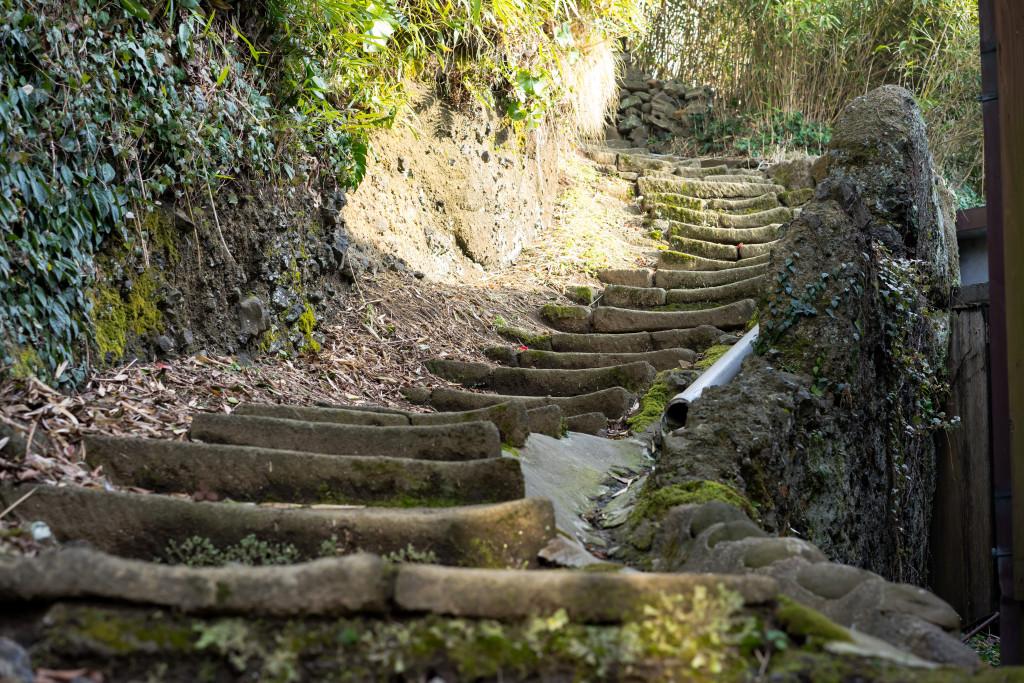 宿根木階段