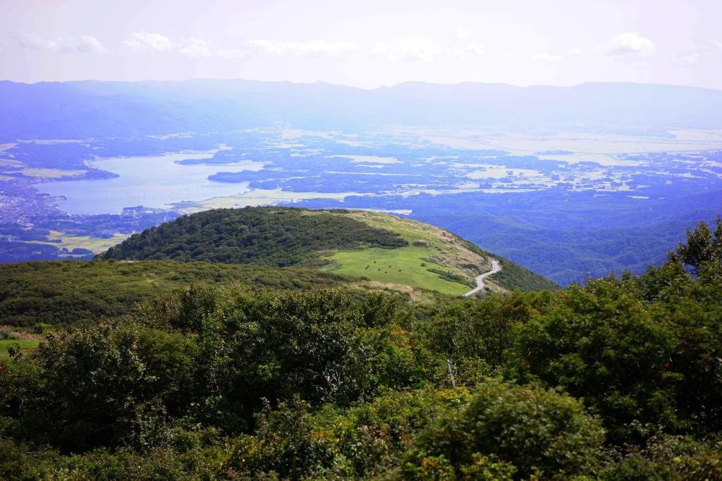 ドンデン山荘からの眺望