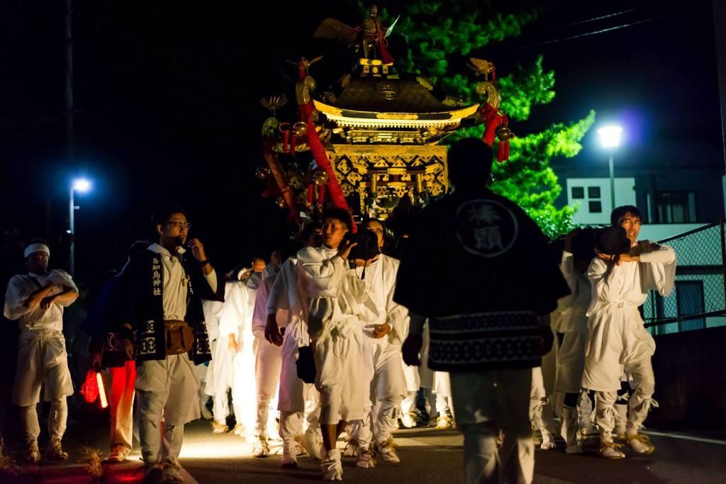相川祭り 神輿