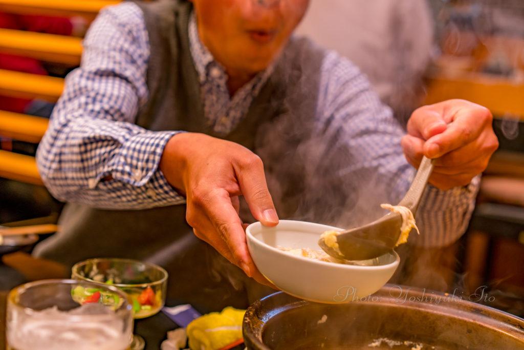 シロウオ柳川鍋