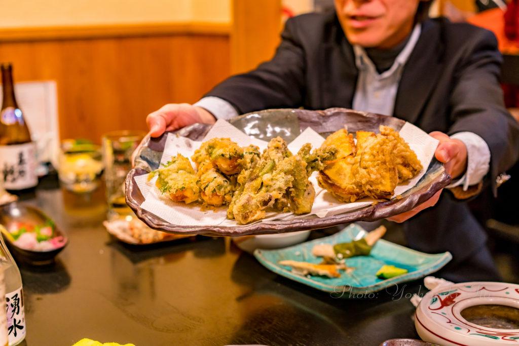 割烹ごしまの天ぷら