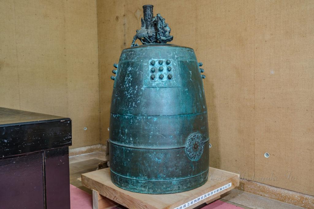 長安寺の朝鮮鐘