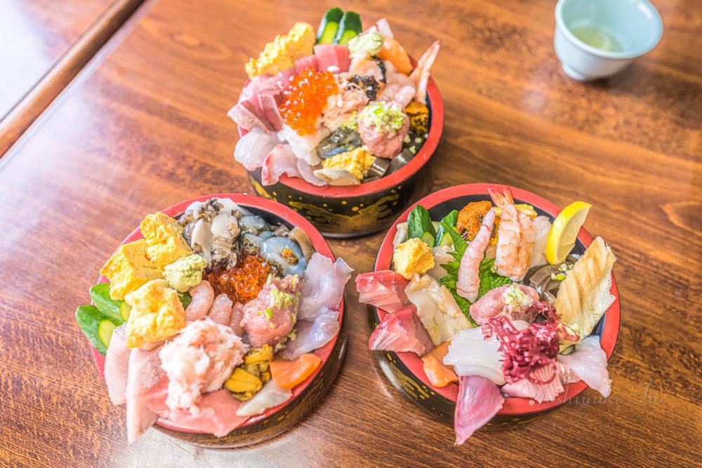 長浜荘の海鮮丼