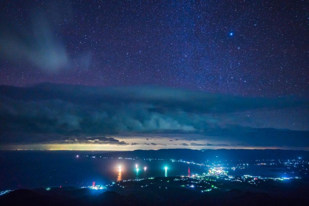 佐渡の夜景