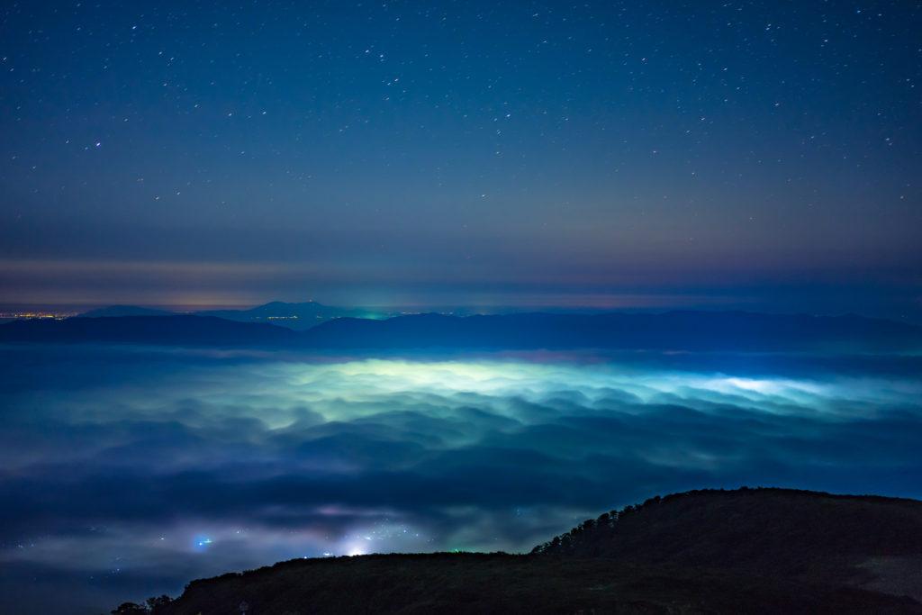 ドンデン山からの雲海