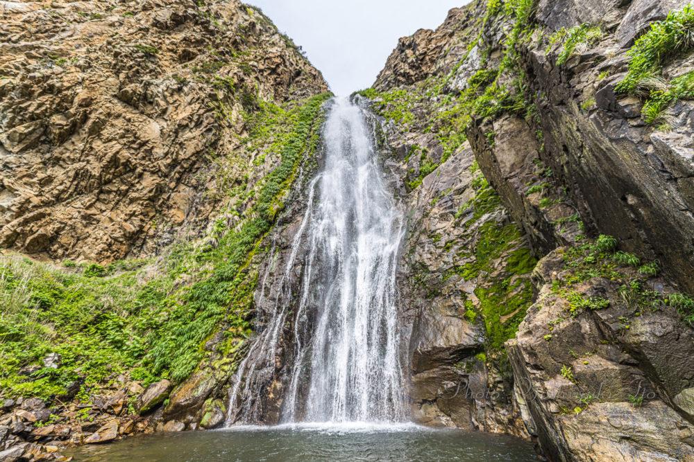 大ザレの滝正面