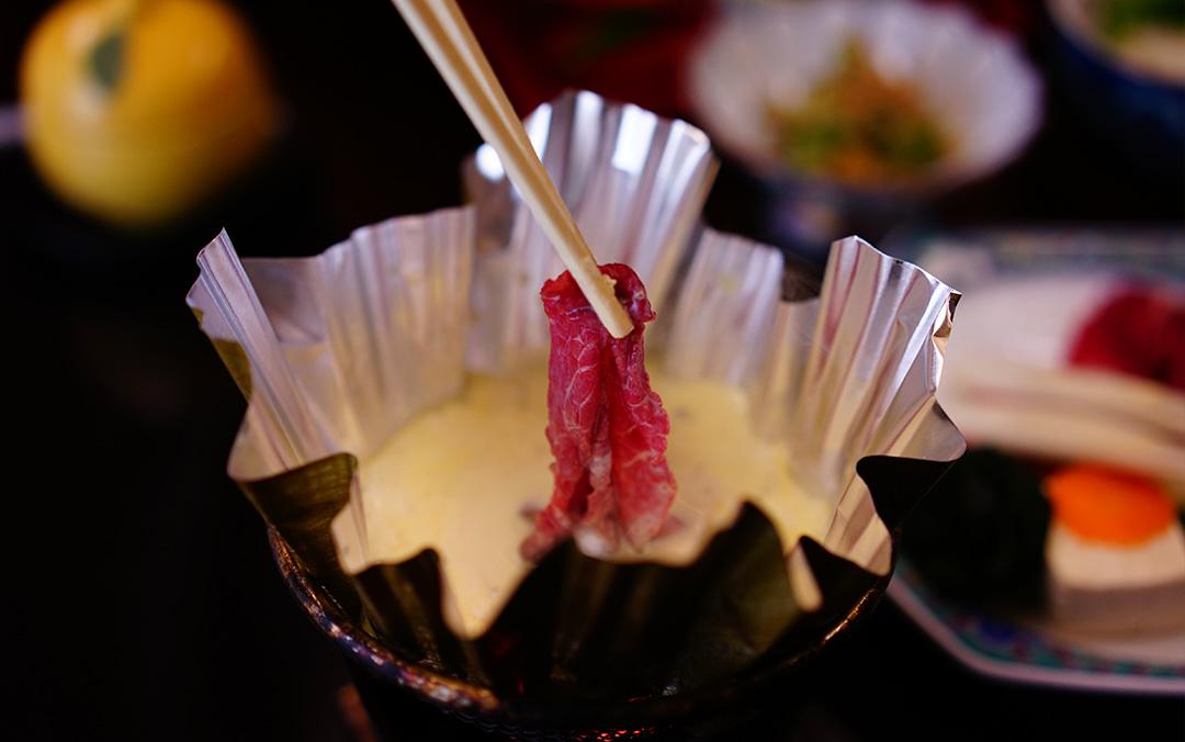 和牛の豆乳しゃぶしゃぶと海鮮会席プラン