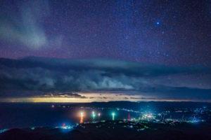 ドンデン山の夜景