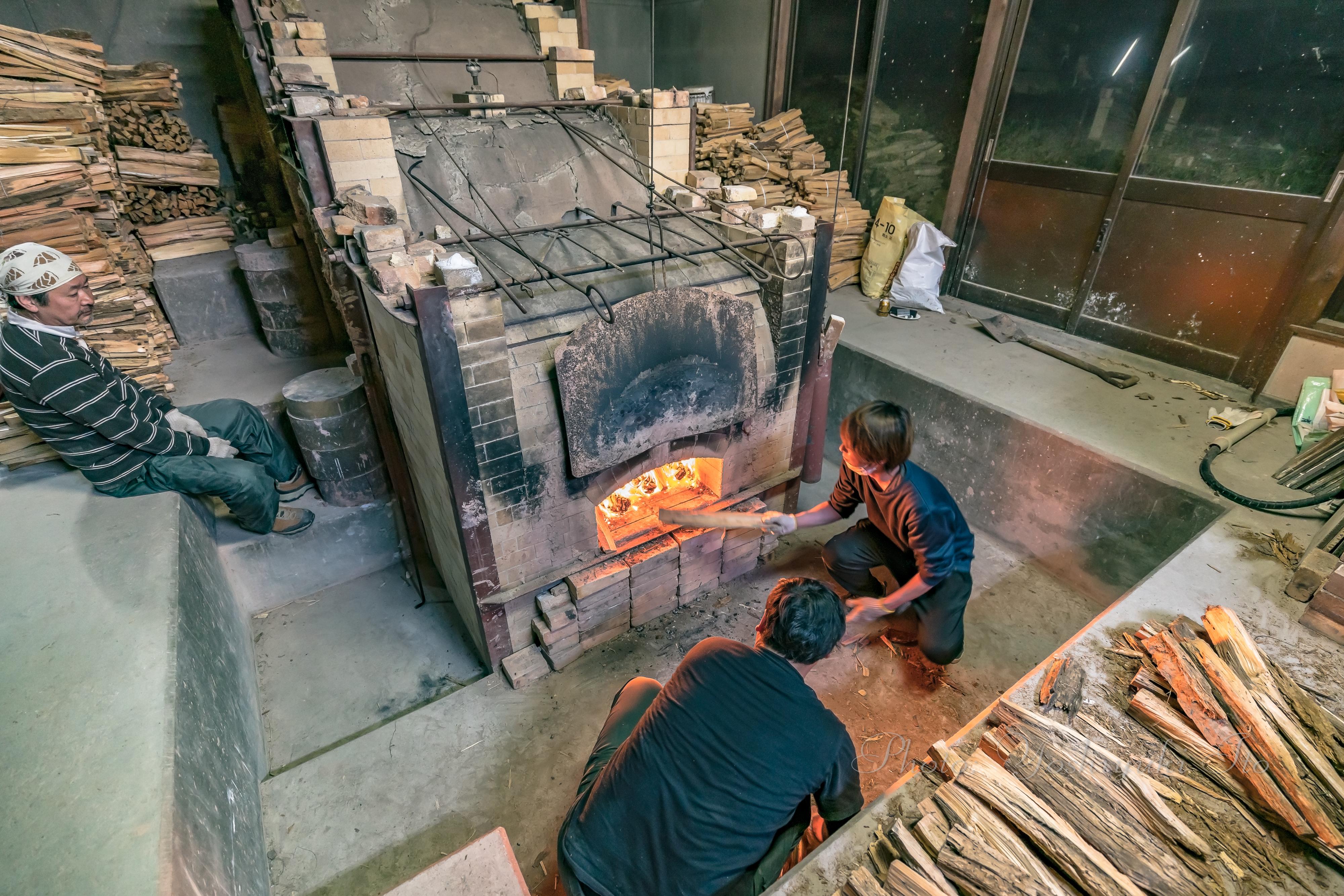 北沢窯の登り窯