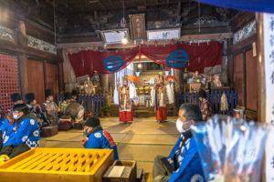 大日孁神社 大日堂祭り
